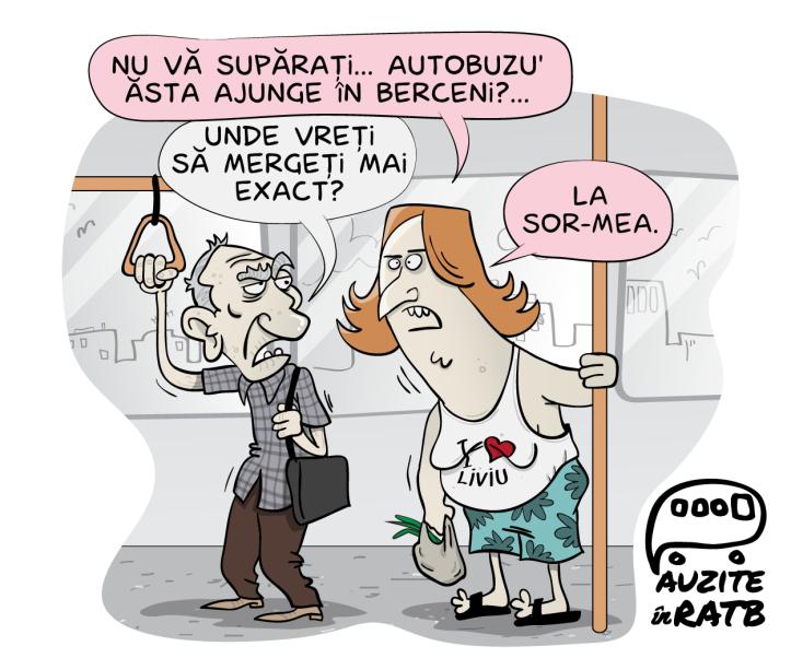caricaturi - auzite in RATB-20