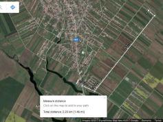 distante pana la ratb - 2.5km din camp - AC dat