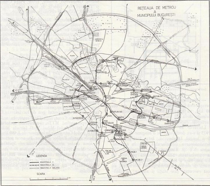 metrorex - harta proiectmetrou