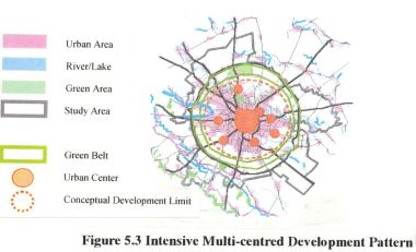 2000 - JICA - dezvoltare multi centre