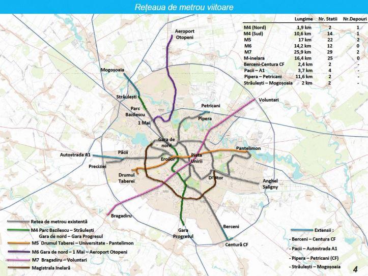 plan metrou 2013