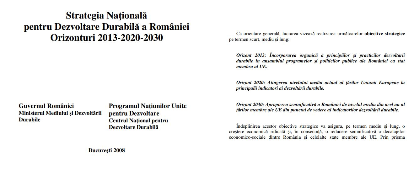 SNDD 2008 Orizonturi 2013-2020-2030