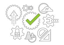 working-gear-vector-icons