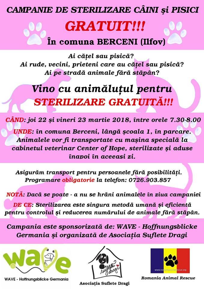 2018 03 04 - campanie sterilizare caini pisici