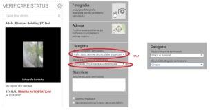 app - CivicAlert - sesizare formular