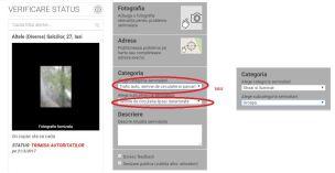 app - CivicAlert - sesizare gropi formular