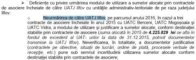 curtea ed conturi - 2016 - probleme CJI