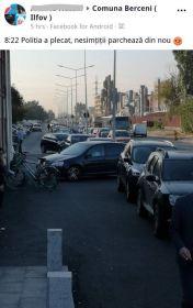 parcare pe interzis - acuze 4 - jigneste pe altii dar ea a parcat pe trotuar