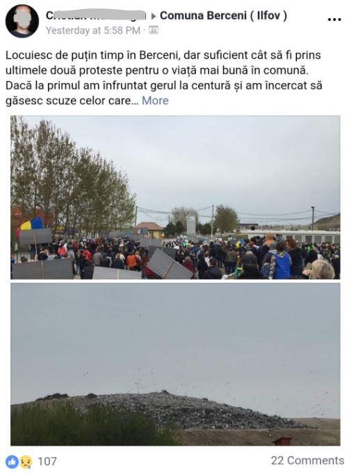 de la protest
